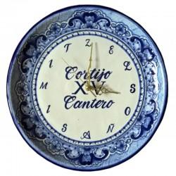 Reloj de Talavera Personalizado