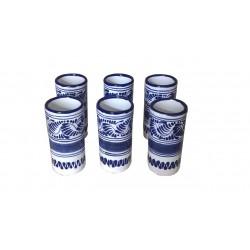 Set de 6 Vasos Tequileros
