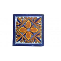 Azulejo de Talavera Espiral