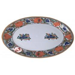 Plato Oval de Talavera 30 cm