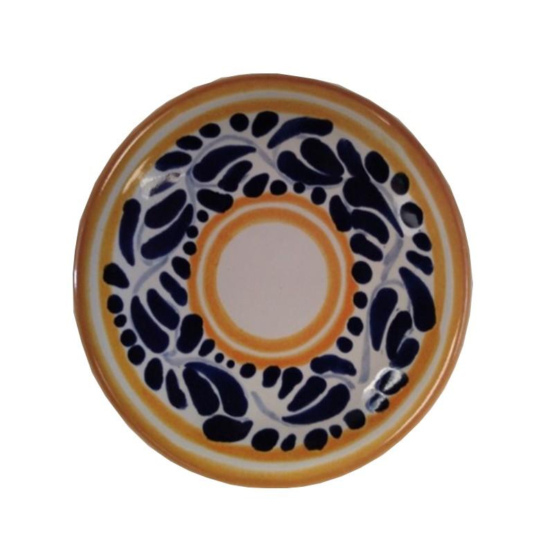 Set de 4 platos postre de talavera for Set de platos
