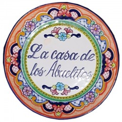 Plato Personalizado Talavera 15 cm