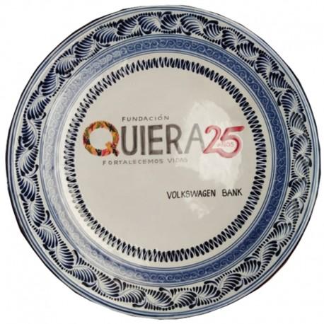 Plato Personalizado de Talavera 25 cm
