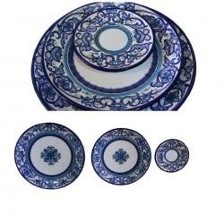Platos de Talavera 3 piezas