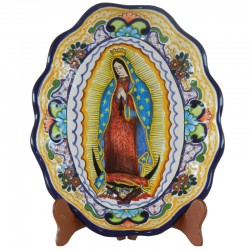Virgen oval concha