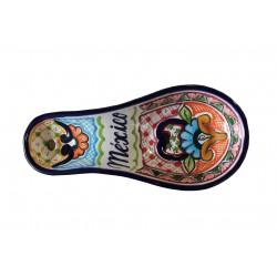 Porta cuchara de talavera
